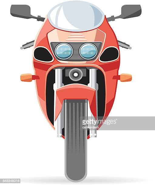 Front view bike