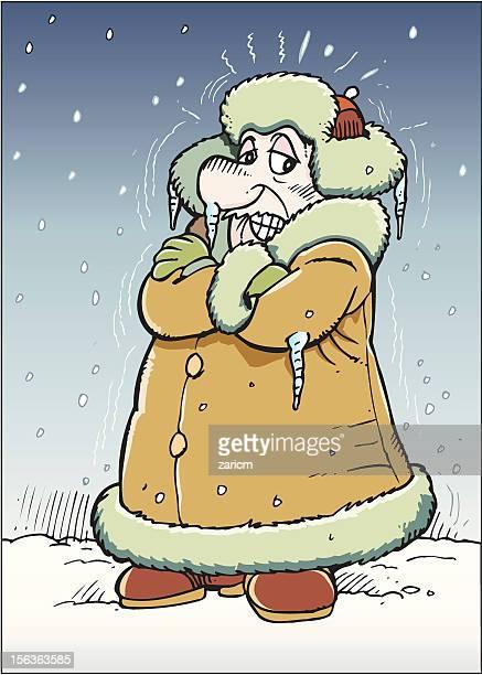 Frosty man