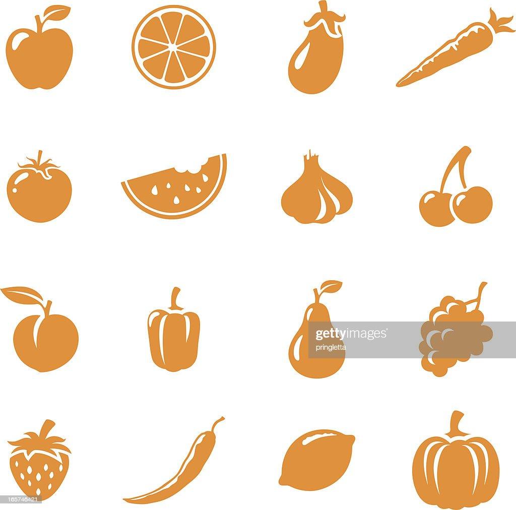 Fruit & Veg Icons