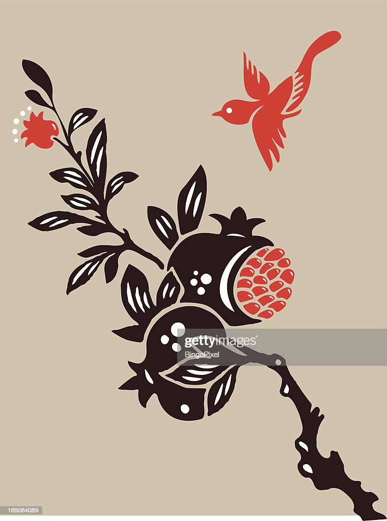 Fruit and Bird