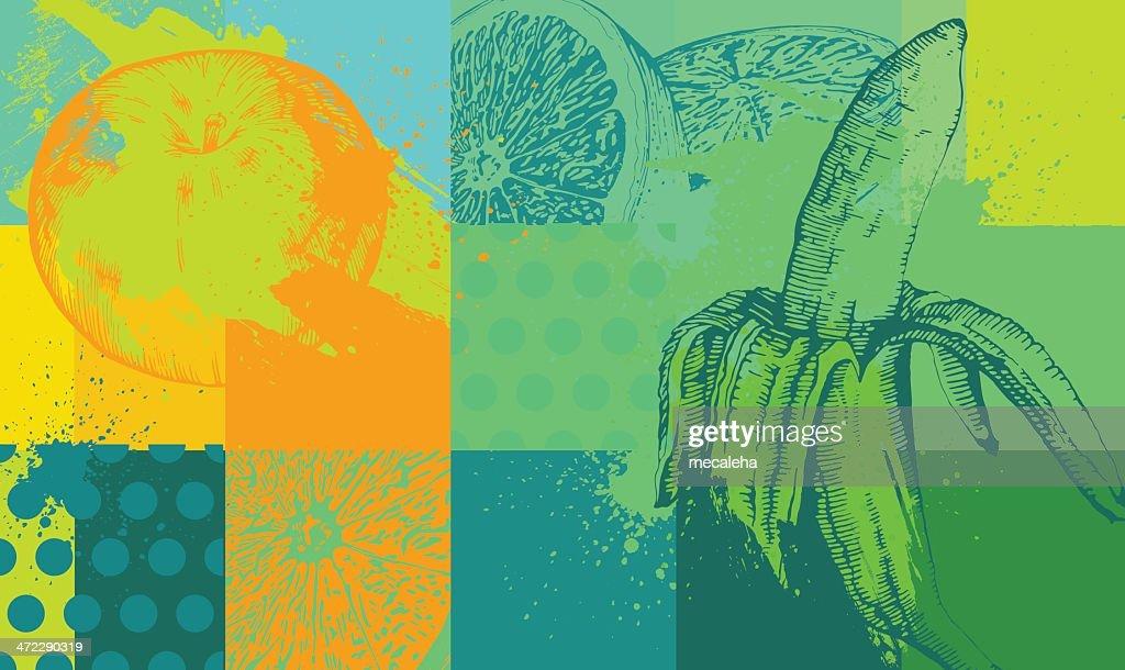 Fruit Background : stock illustration