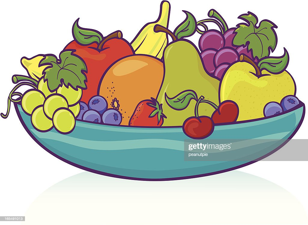 Fruit Bowl Stock Illustrations And Cartoons   Getty Images
