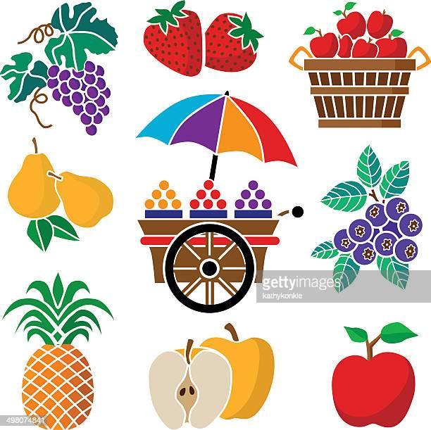 Obst und Gemüse cart