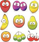 Fruit Cartoon collection