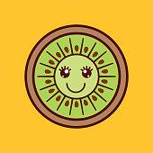 fruit character design