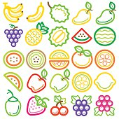 Fruit icon colour