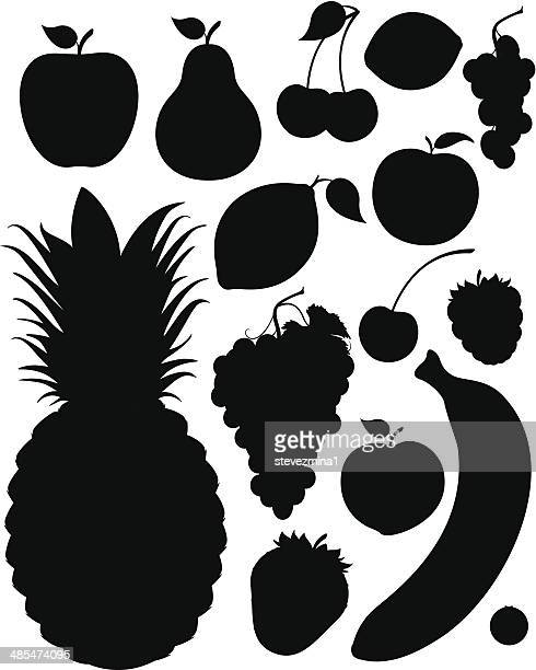 Fruit Silhouettes