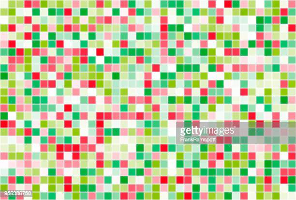 Obst-Square Vector Art Muster Horizontal