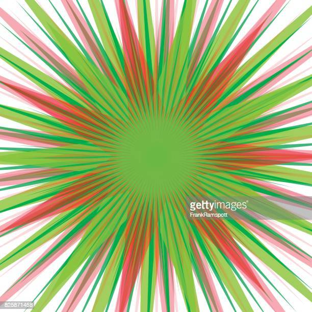 ilustraciones, imágenes clip art, dibujos animados e iconos de stock de frutas starburst concéntricos vector patrón - frank ramspott