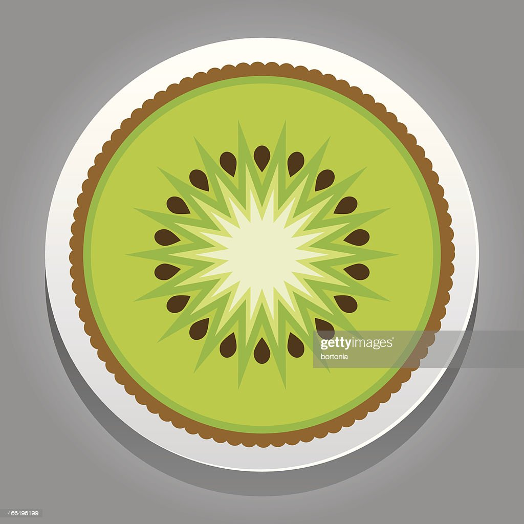 Fruit Sticker: Kiwi