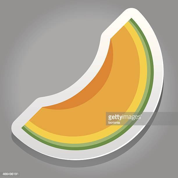 Fruit Sticker: Melon