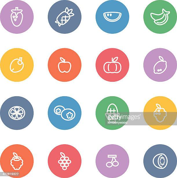 fruit - blueberry stock illustrations, clip art, cartoons, & icons