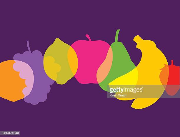 fruit - healthy eating stock illustrations, clip art, cartoons, & icons