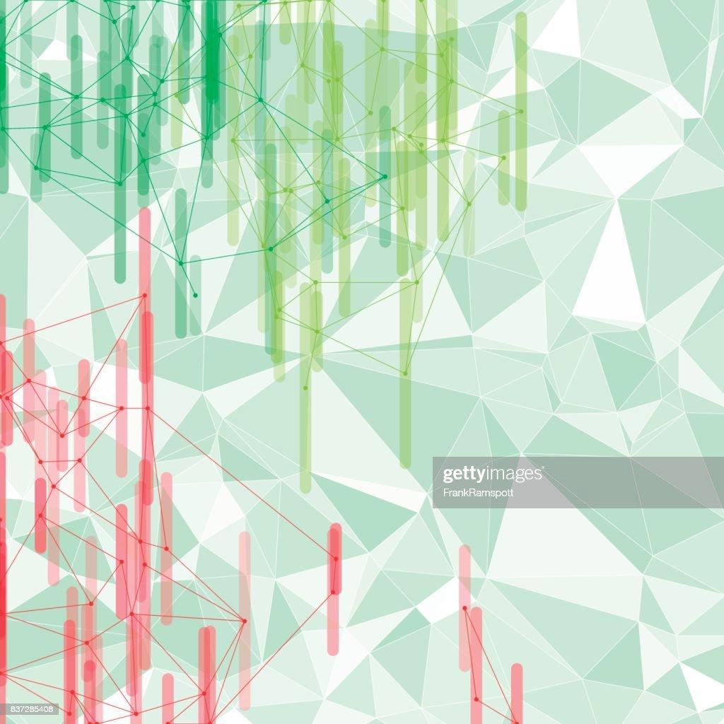 Vektor-Netzwerk Früchtebar Chartmuster : Stock-Illustration