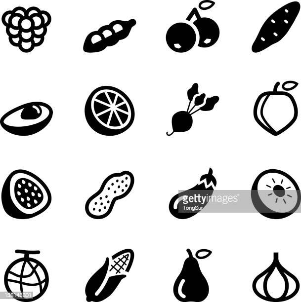Fruits and Vegetables icons | Set 2