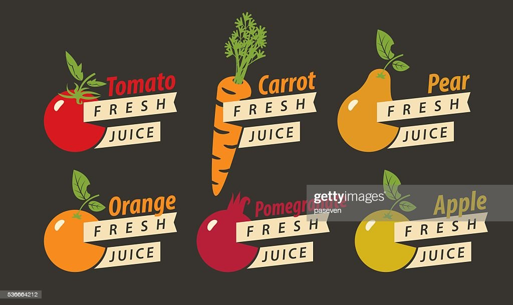 fruits with the names of for fresh juice
