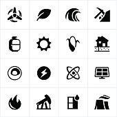 Fuel and Energy Icons