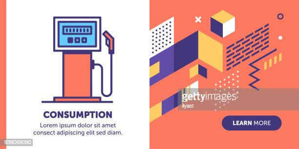 Fuel Consumption Banner