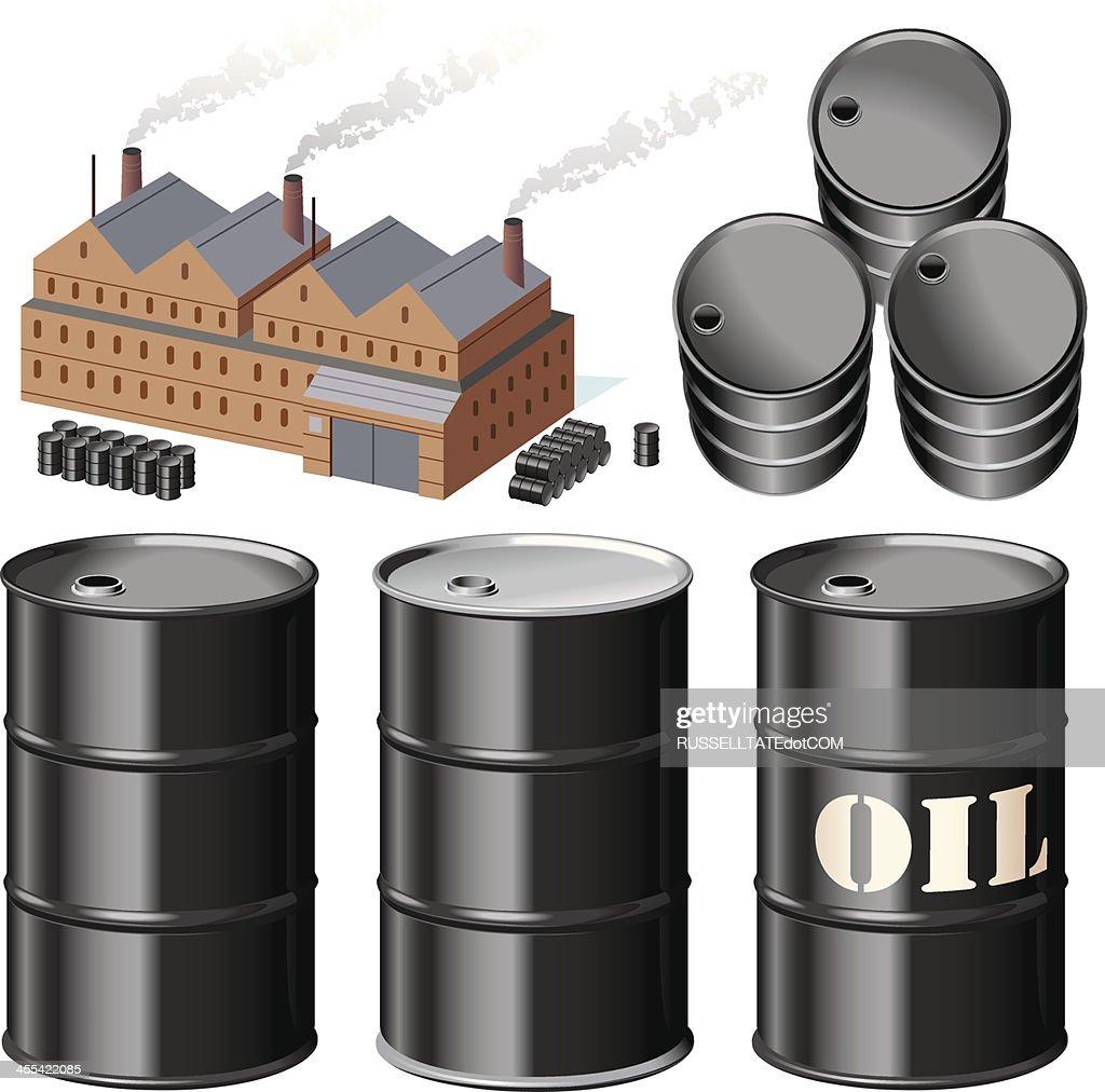Fuel Dump : stock illustration