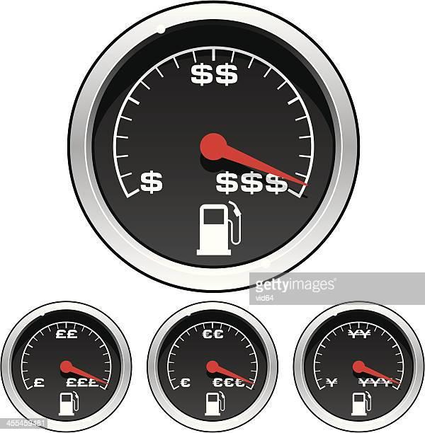60 Top Fuel Gauge Stock Illustrations, Clip art, Cartoons