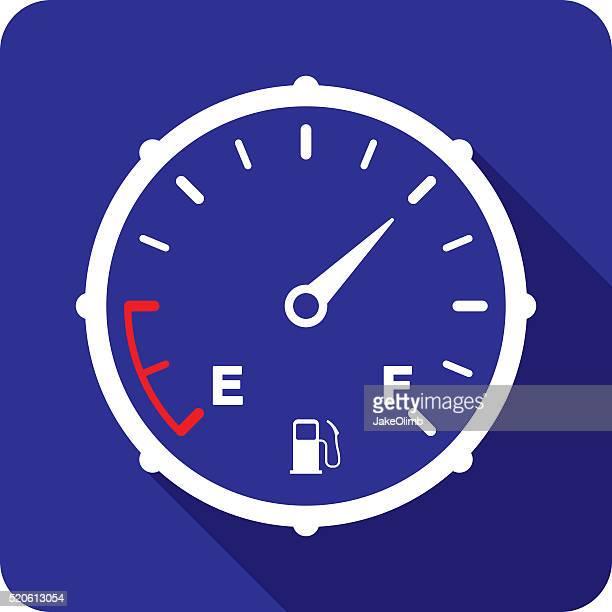 """illustrations, cliparts, dessins animés et icônes de icône de silhouette de jauge d """" essence - fuel pump"""