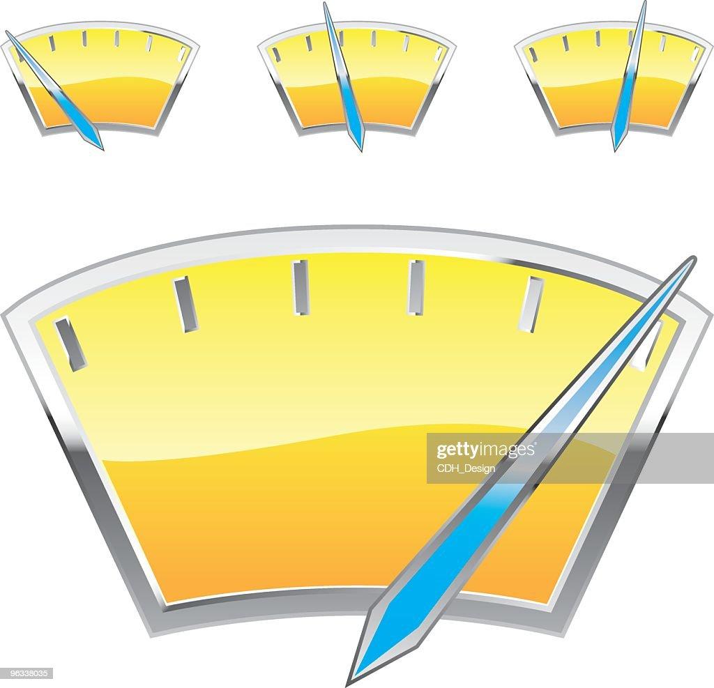 Fuel Gauge stock illustration - Getty Images