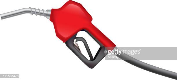 fuel gun - fuel pump stock illustrations, clip art, cartoons, & icons