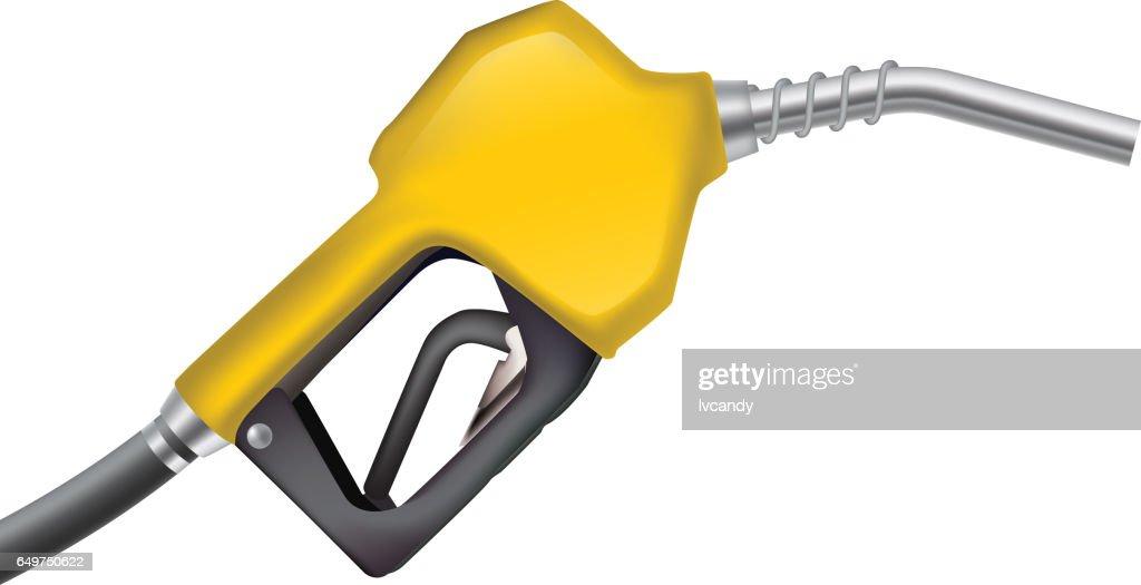 Fuel gun : stock illustration