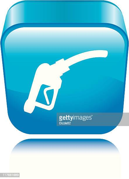 fuel pump icon - gas prices stock illustrations, clip art, cartoons, & icons