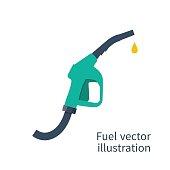 Fuel pump. Petrol station sign. Gas station sign. Gasoline pump