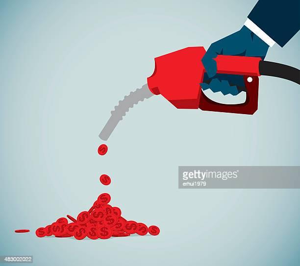 illustrations, cliparts, dessins animés et icônes de pompe à essence - fuel pump