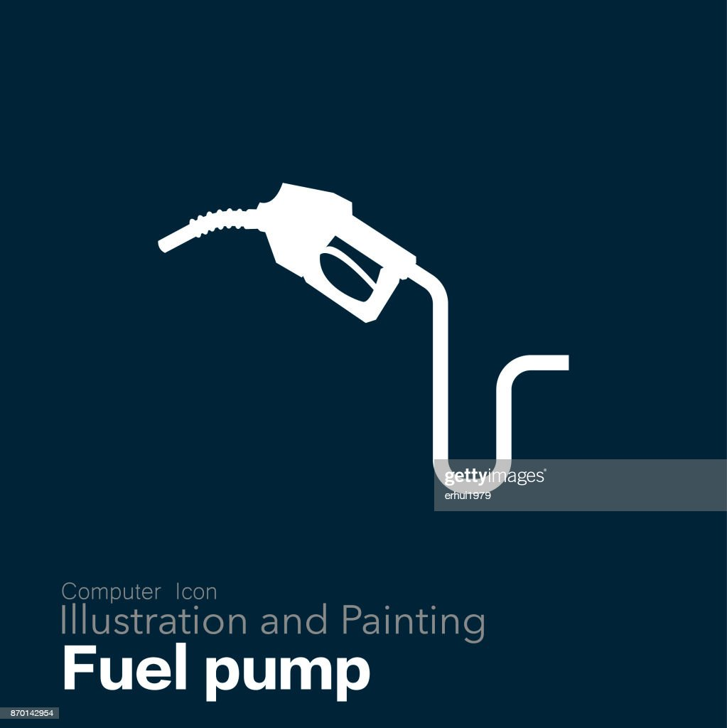 fuel pump : stock illustration
