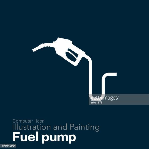 fuel pump - fuel station stock illustrations, clip art, cartoons, & icons