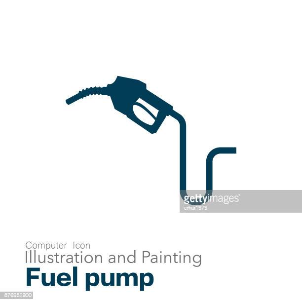 fuel pump - oil pump stock illustrations, clip art, cartoons, & icons