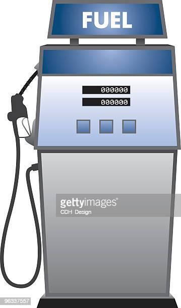 illustrations, cliparts, dessins animés et icônes de fuel station. - fuel pump