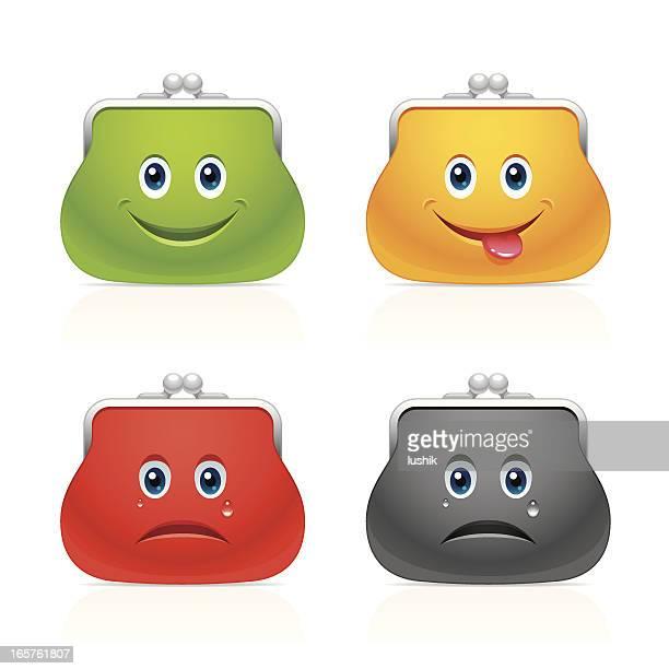Full and empty purses