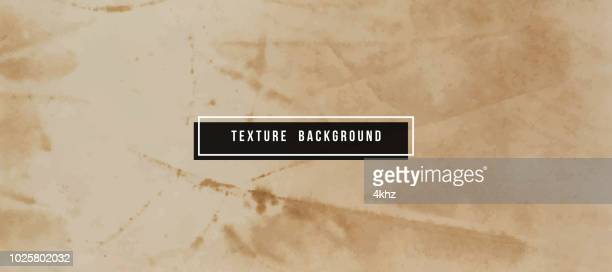 Full Frame Grunge Aged Paper Surface Texture Background