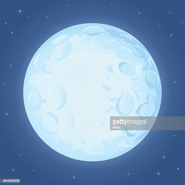full moon - moon stock illustrations