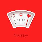 Full of Love meter