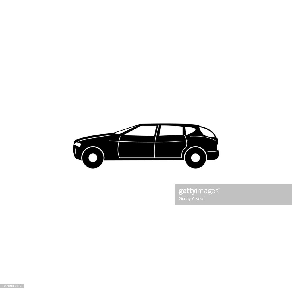 Full Size Luxury Car Icon Car Type Simple Icon Transport Element