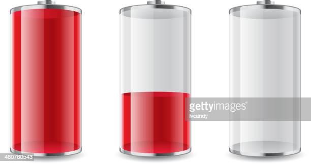 Full-Half-Empty Battery