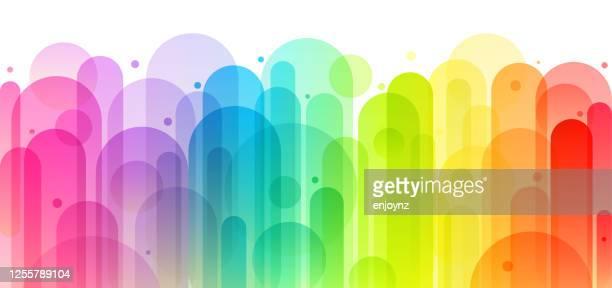 楽しいカラフルな抽象的な背景イラスト - lgbtqi点のイラスト素材/クリップアート素材/マンガ素材/アイコン素材