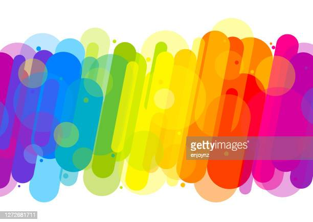 楽しいカラフルな抽象的な背景イラスト - lgbtプライド月間点のイラスト素材/クリップアート素材/マンガ素材/アイコン素材