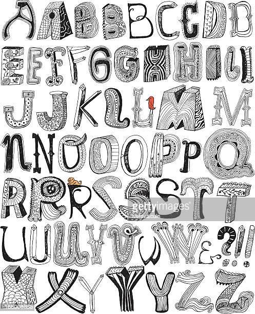 fun letters - pejft 幅插畫檔、美工圖案、卡通及圖標