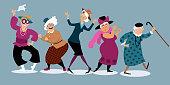 Fun senior ladies