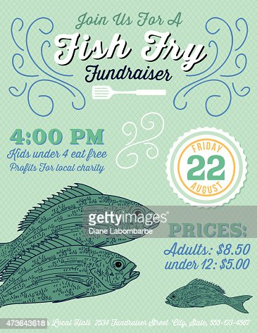 fish fry fundraiser template