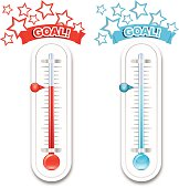 Fundraiser  Goal Thermometers
