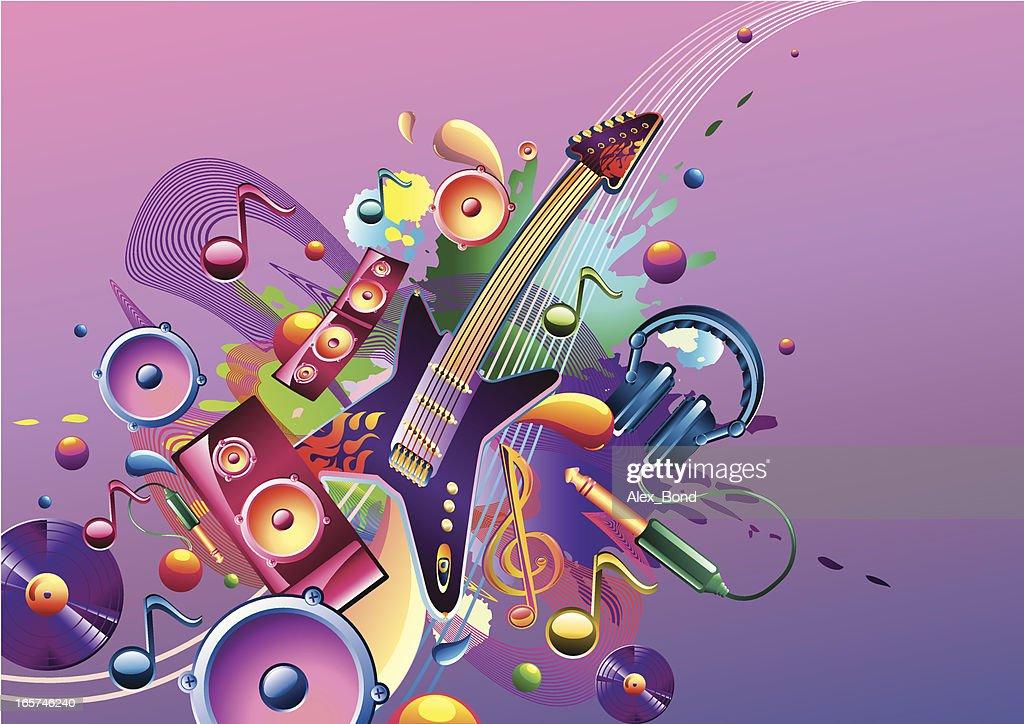Funky music theme