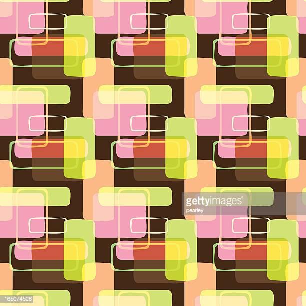 Funky-Seamless Pattern retrò