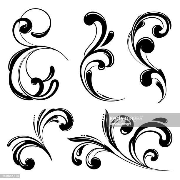 Funky Scrolls Elements